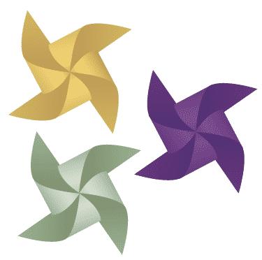 free vector pinwheel