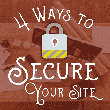 secure my Wordpres site